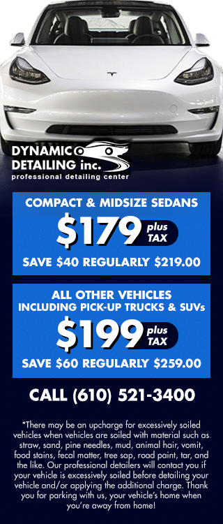 Car Detailing while your Parked!